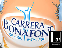 Bonafont Carrera Packaging Design