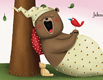 Hrkalo / Snorybear, picture book