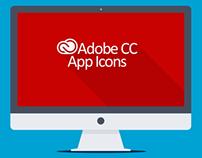 Adobe CC Long Shadow App Icons
