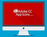 Adobe CC App Icons Volume 2