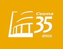 35 years of CESMA - commemorative stamp