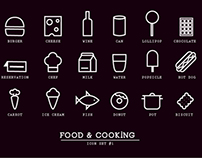 Free / Food & Cooking icons #1