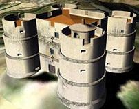 Castelo de Evoramonte - 3D