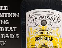 J.R. Watkins Dish Soap