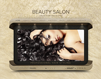 Beauty Salon HTML5 Template 300111477