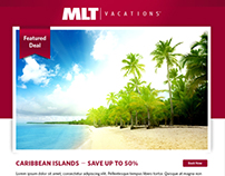 MLT Vacation E-mail Template Concepts