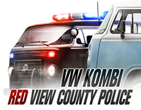 VW KOMBI - Red View County Police