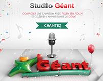 Géant studio