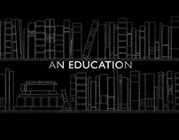 AN EDUCATION titles