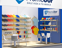 Promobor Stand / 3D Visualization