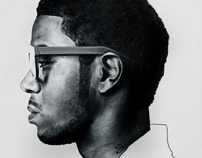 Kid Cudi | Colored Pencil Portrait