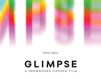 Glimpse Poster, logo and Ad