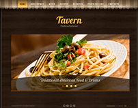 Tavern Traditional Restaurant HTML5 Template 300111541