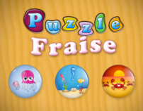 Fraise Puzzle iPhone iPad Android WP7