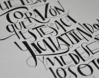 Drawn Letters I