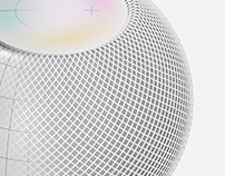 Render Homepod mini from a simple CAD.