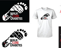 EDMC's Walk to Cure Diabetes Winning T-shirt Design