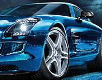"""Mercedes-Benz """"SLS AMG Electric Drive"""""""