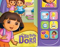 Dora Potty Time Sound Book