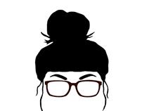 Sinead Eby's logo development
