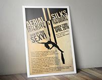 Aerial Silks Intensive Poster