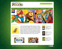 Egypt Foods Website Redesign