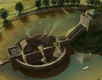 Motte & Bailey Castle Concept Art