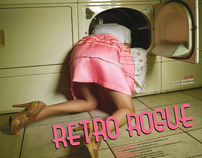 "Behind the Scenes Video ""Retro Rogue"" Fashion Editorial"
