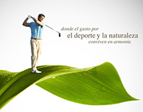 Ad campaing for Harmonia by Yucatan Country Club