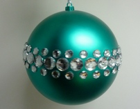 Custom Made Christmas Baubles - Handmade