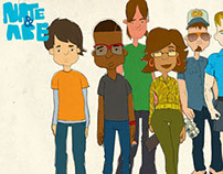 Nate&Abe- Animated Pilot (Keith Powell- 30 Rock)