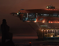Assorted Sci Fi Illustrations