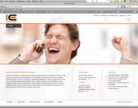 INTELLECTUAL CAPITA website redesign