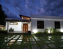 Photographer's contemporary home in Cambodia