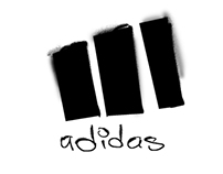 Logo Design (Adidas, Wildstrom Comics, Virgin Records)