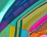 Colour Studies (Digital Abstract Art Series)