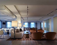 Lounge 1447 at the Merchandise Mart