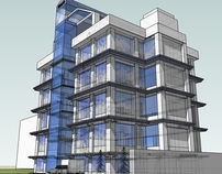 High-rise building 3D design - Location Kitengela