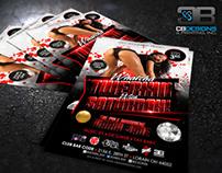 """Watcha Twerkin' With Saturday"" | Club Flyer Design"
