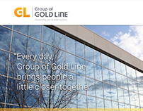 Group of Gold Line, Corporate Website Proposal
