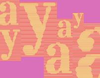 Tipografía experimental 1