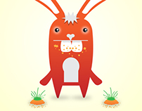 BUNNY VECTOR    CHARACTER