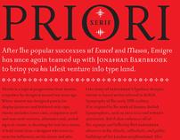 Priori Typeface