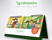 Tokopedia Calendar 2014
