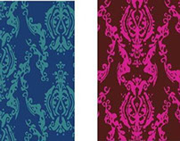 Textile Design - Kazakhstan Inspired