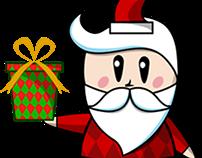 Charater illustration Santa