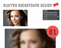 Blur Background Action Set V2