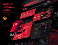 Manchester utd website redesign
