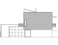 Toporama Pecol - a small single-family house
