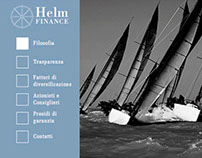 Helm Finance . Sito Web
